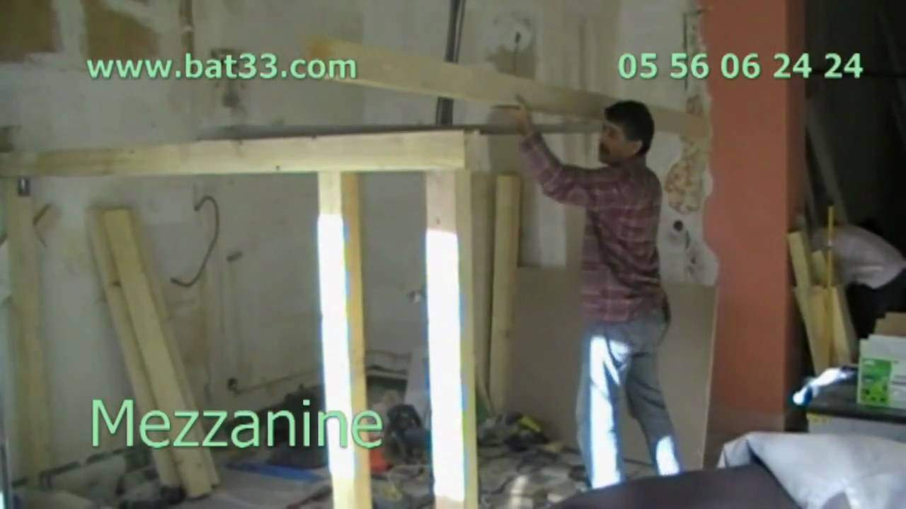 Mezzanine bordeaux paris youtube - Fabriquer un dressing en bois ...