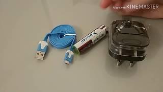 как сделать простейший повербанк? Как определить плюс и минус на USB шнуре?