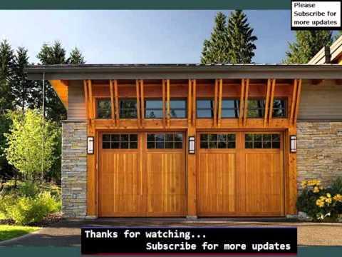 Garage Door Styles Collection Timber Modern Garage Door Youtube