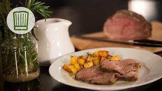 Kalbsbraten zu Weihnachten - Luisa lädt ein - Das Weihnachtsmenü #chefkoch