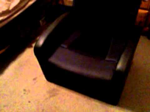 Storage Ottoman Sound Chair Slipcover For Armless Gaming By Level Up Youtube