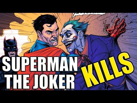 SUPERMAN KILLS THE JOKER (Injustice: Year One Part 1) │ Comic History
