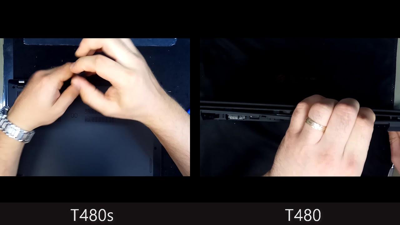 Lenovo T480 vs T480s compare