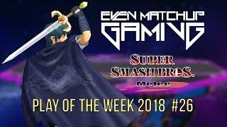 Video EMG SSBM Play of the Week 2018 - Episode 26 (Super Smash Bros. Melee) download MP3, 3GP, MP4, WEBM, AVI, FLV Juli 2018