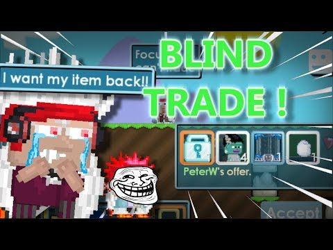 BLIND TRADE ( Easy DLS ) | GROWTOPIA Ft.PeterW