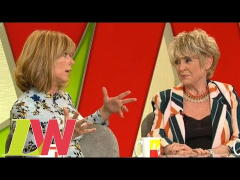 Kate Garraway Faces Down Gloria Hunniford for Calling Her 'Pathetic'  Loose Women