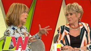 Kate Garraway Faces Down Gloria Hunniford for Calling Her 'Pathetic' | Loose Women