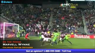 Marvell Wynne Talks 2013 Colorado Rapids