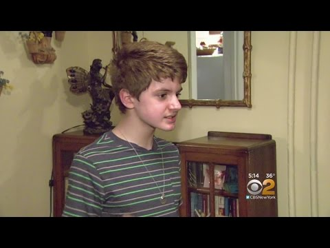 Broadway Song Inspires Boy To Sing