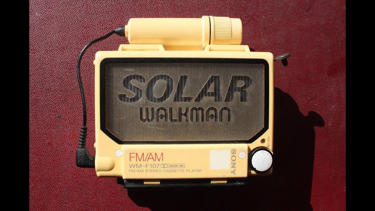 Sony Walkman WM F107 Solar