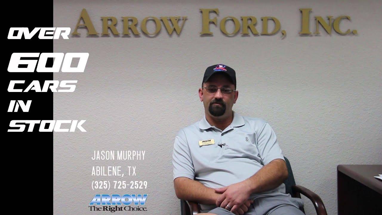 Arrow Ford Abilene Tx >> Jason Murphy Arrow Ford