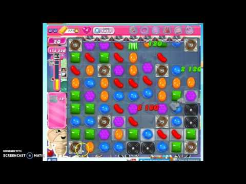 Candy Crush Level 1411 Help W/audio Tips, Hints, Tricks