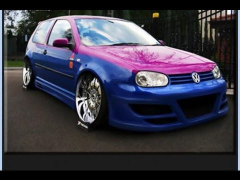 vw golf 4 tuning body kit youtube. Black Bedroom Furniture Sets. Home Design Ideas