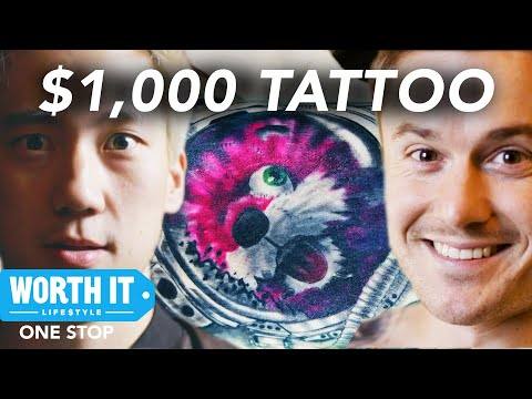 Pablo - $1,000 Tattoo - Worth It Tattoos OR Are They?