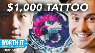 $1,000 Tattoo - Worth It Tattoos • Part 2