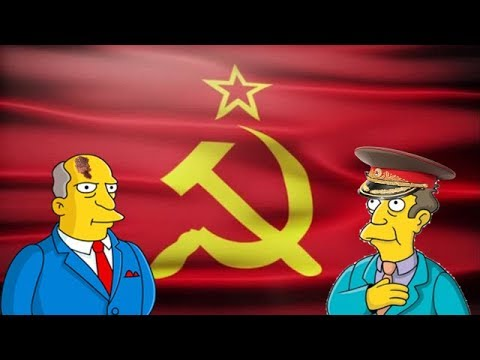 Steamed hams but every time someone opens something it's communist