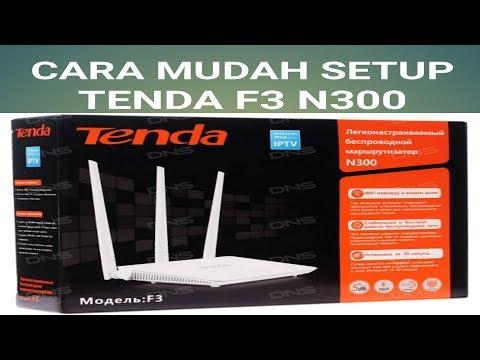 Cara Mudah Setup Wireless Extender/Repeater TENDA F3 N300