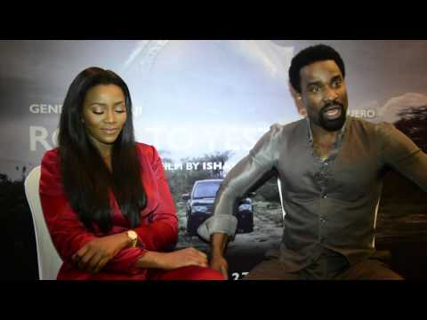 Oris Erhuero & Genevieve Nnaji Describes Their Challenges On Set Of New Film | Pulse TV