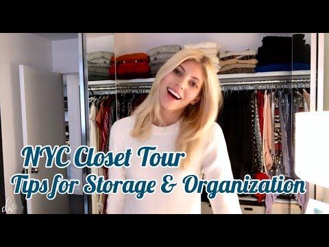 NYC Closet Tour | Tips for Organization & Storage | Devon Windsor