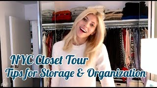NYC Closet Tour | Tips for Organization & Storage | Devon Windsor