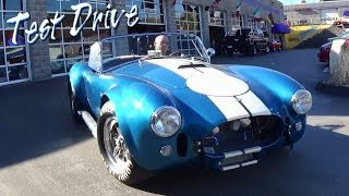 Awesome Test Drive 1965 Shelby Cobra 575 HP CSX4891 - Extended Version