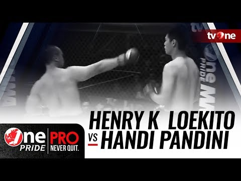 [Full HD] Henry K  Loekito vs Handi Pandini - One Pride MMA #13