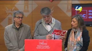 """El PSC veu &quotinsuficient"""" la reduccio de la zona blava de Tortosa"""