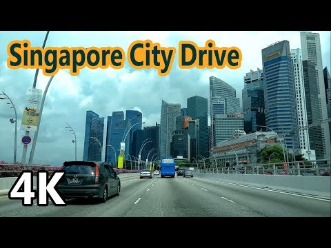 Singapore City Drive | 4K