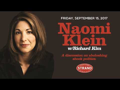 Naomi Klein + Richard Kim | No Is Not Enough