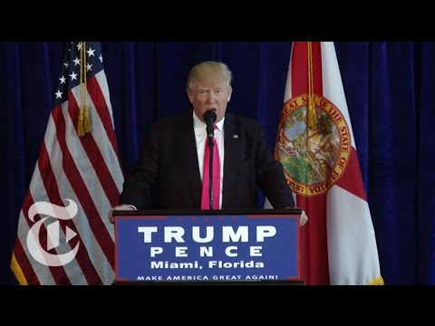Trump Urges Russia to Locate Clinton Emails | The New York Times