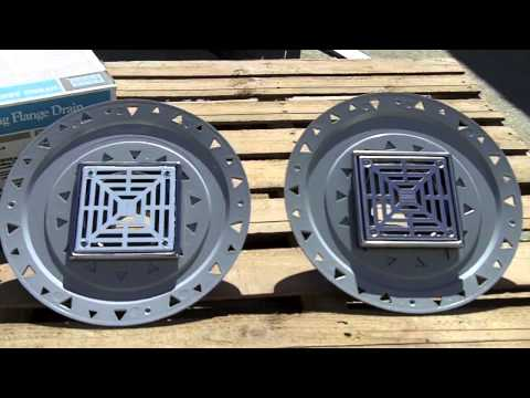 The Difference Between Laticrete Bonding Flange Drains (Standard vs Low Profile)