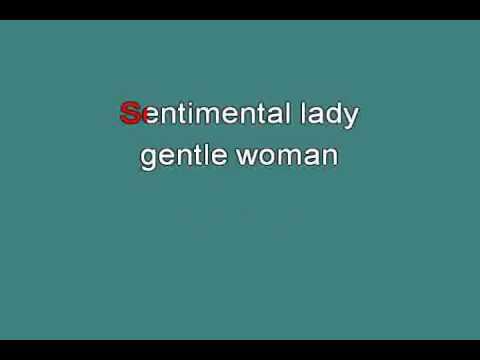 SENTIMENTAL LADY 714559 [karaoke]