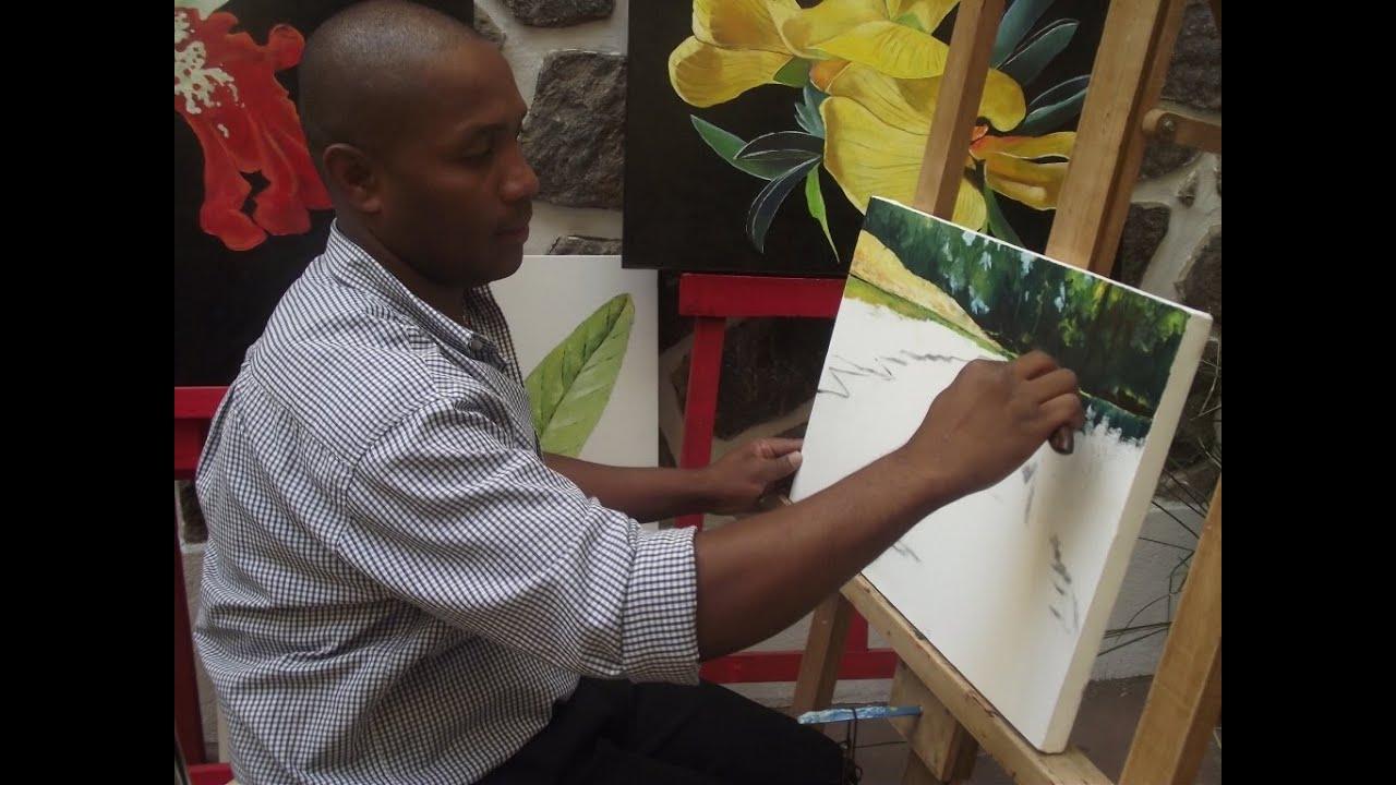 "ARTS & CULTURE : LE PEINTRE MALAGASY ""DELICE"""