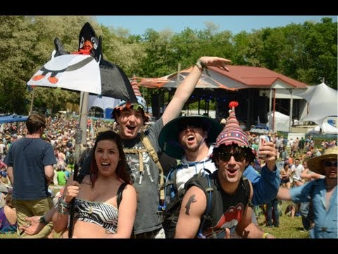 Eric's Video Highlights from Summer Camp Music Festival 2013