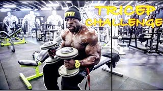 TRICEP CHALLENGE (How Many Can You Do ?) | Kali Muscle
