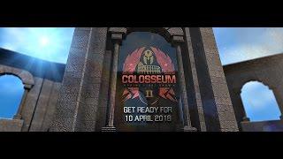 Get ready for COLOSSEUM II 10.04.2016 Thessaloniki Χ.Α.Ν.Θ. Video: ...