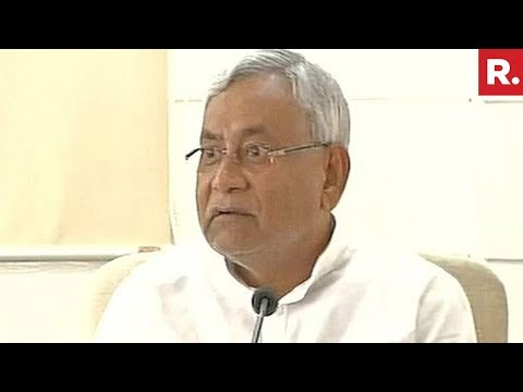 Nitish Kumar Counters RJD's Charge - Full Press Conference