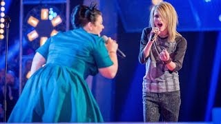 Kiki de Ville Vs James Byron: Battle Performance - The Voice UK 2014 - BBC One