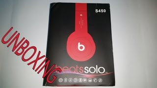 |FAKE!|Beats Audio Solo S450 Bluetooth Uboxing
