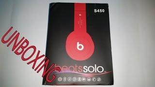 fake  beats audio solo s450 bluetooth uboxing