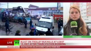 Volgograd trolley bus blast: Terror attack hits southern Russia day after railway station bombing