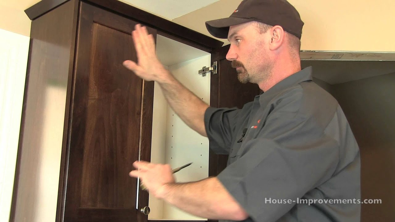 How To Install Cabinet Doors Drawer Fronts Youtube