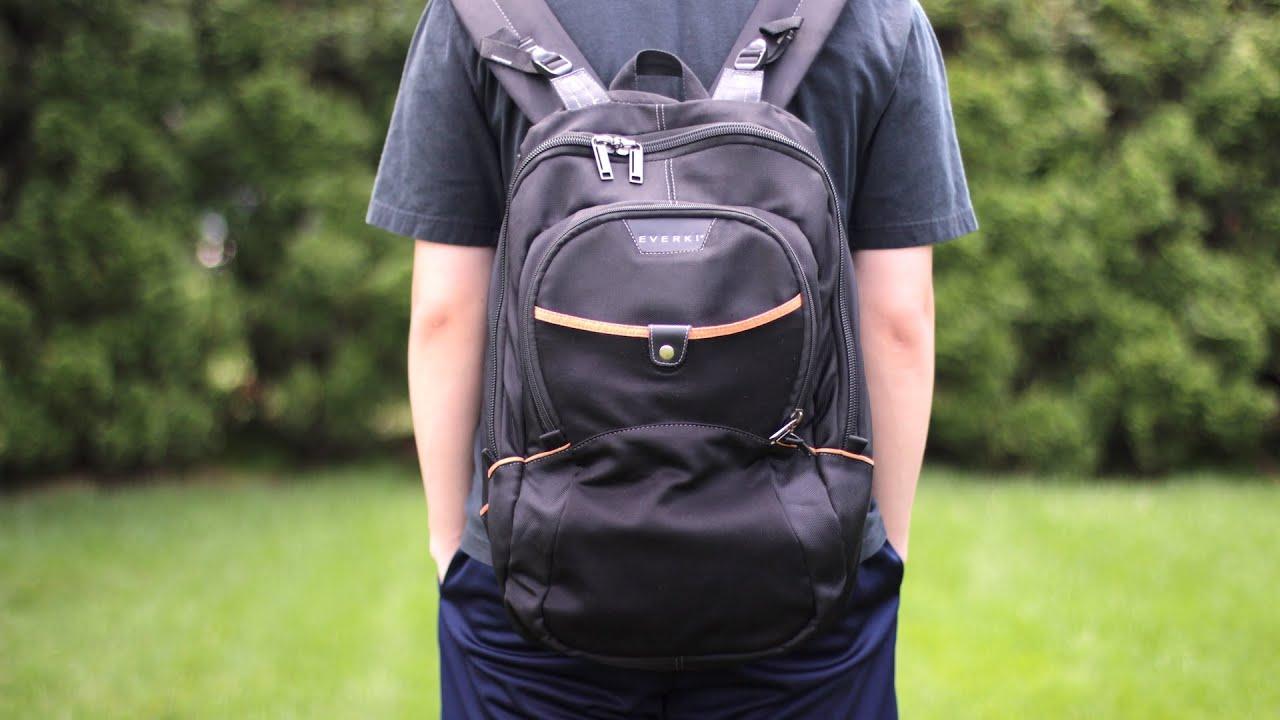 e9e69d54716 Everki Glide Laptop Backpack Review - YouTube
