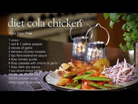 Slimming World Diet Cola Chicken Recipe