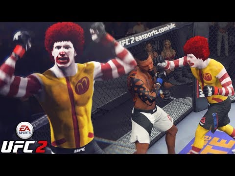 Ronald McDonald Is Back! Can't Handle The McFlurry! EA Sports UFC 2 Ultimate Team Gameplay