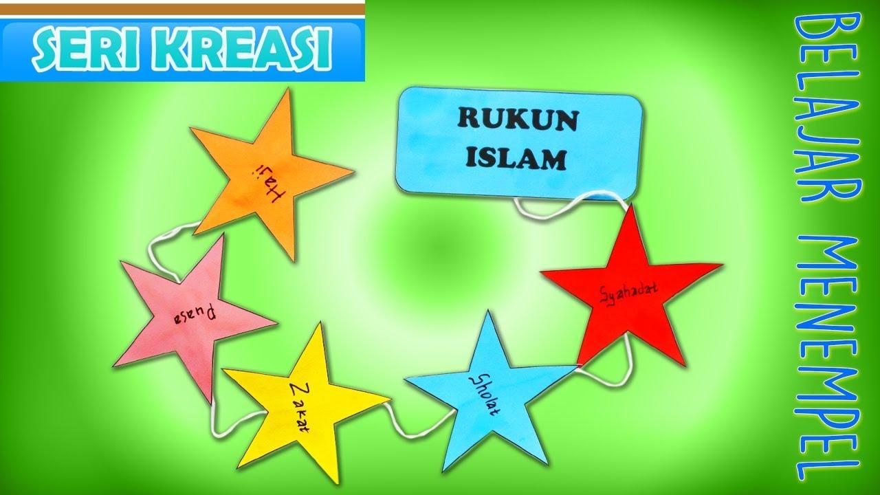 95+ Gambar Rukun Islam Untuk Anak Tk Paling Bagus