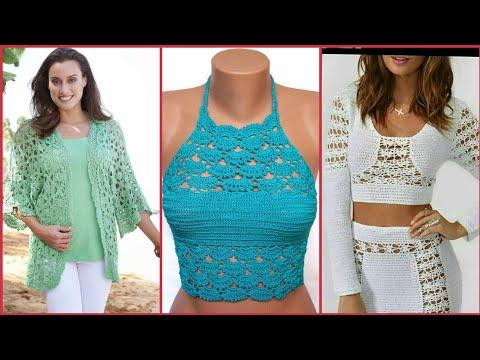 fancy-new-designers-glamorous-&-stylish-crocheting-knitted-bolero-blouse-&-cardigans-shirts