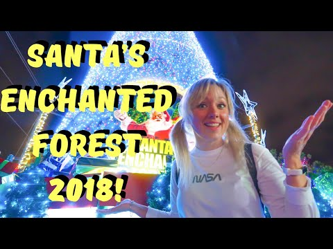 Santa's Enchanted Forest 2018 OPENING WEEKEND! Miami's Holiday Amusement Park!