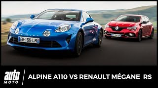 Alpine A110 vs Renault Mégane RS - COMPARATIF : roulez jeunesse