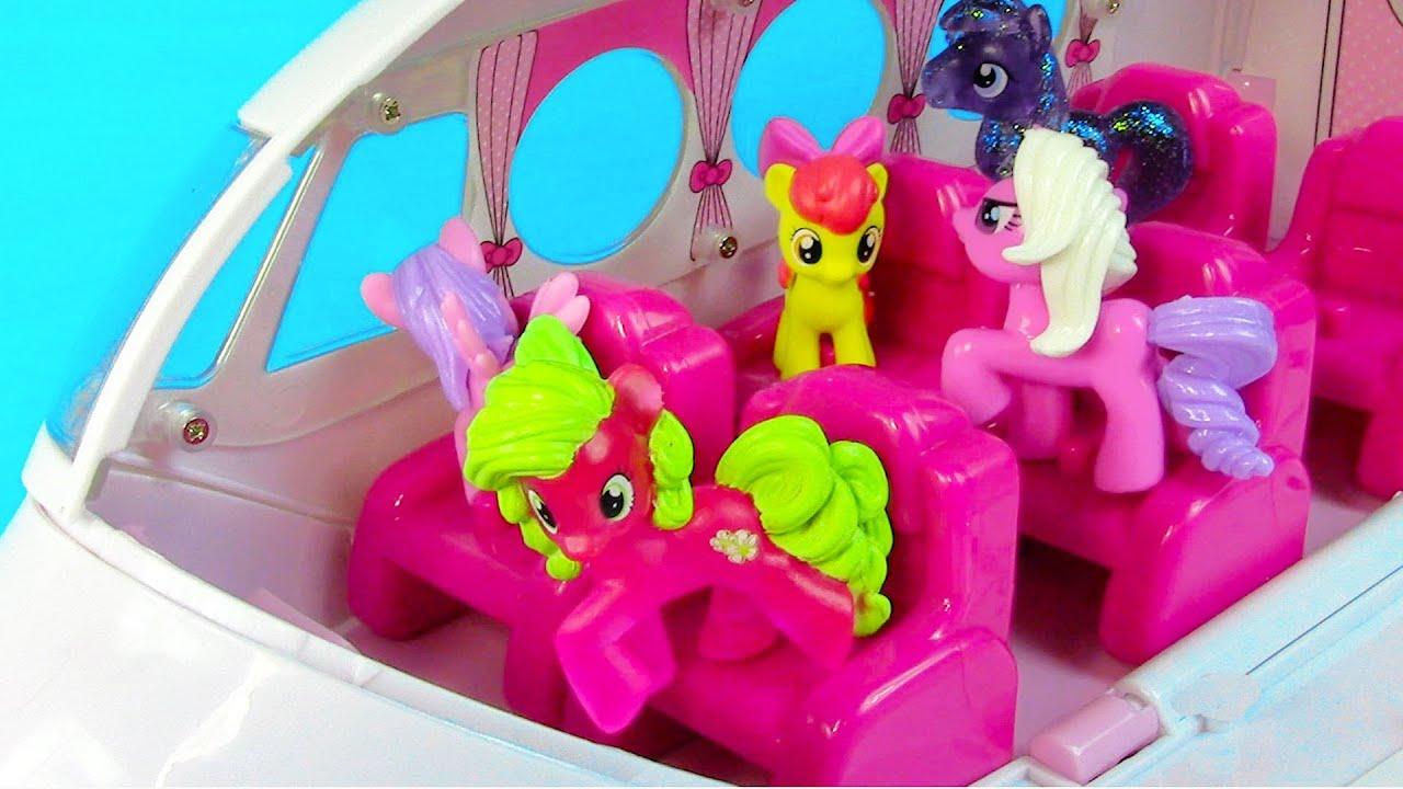 Amazing MLP Airport Missed Flight My Little Pony Travel Part Rarity Pinkie Pie Apple Bloom YouTube